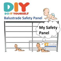Safety Balustrade Panel