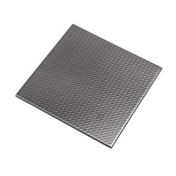 Stainless Steel Tile Check Black