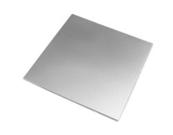 Stainless Steel Tile Check Silver